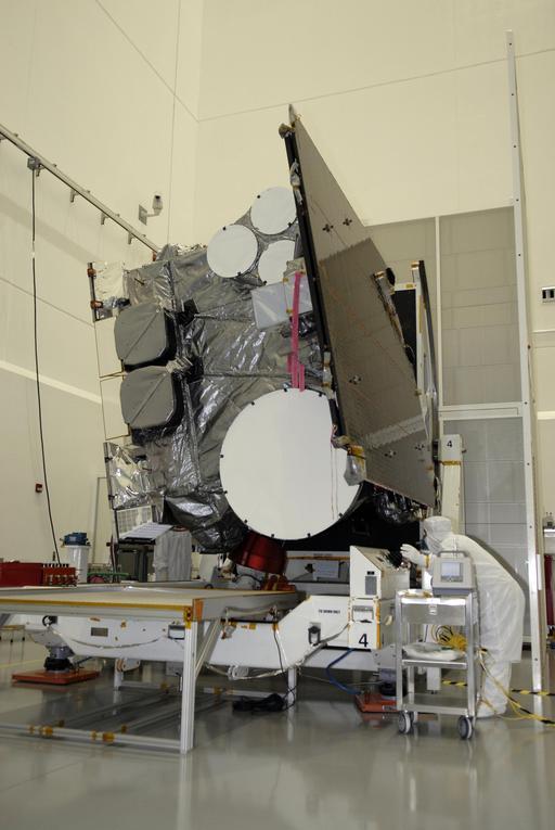 Satellite de météorologie avant lancement
