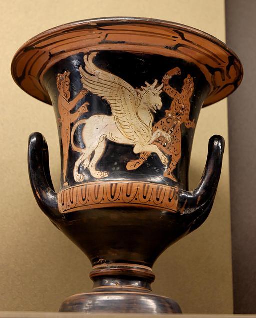 Satyre, griffon et Arismaspe au Louvre