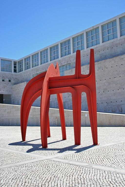Sculpture de Calder à Lisbonne