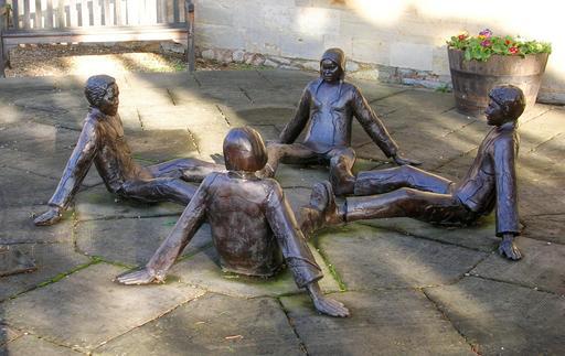 Sculpture des âmes soeurs