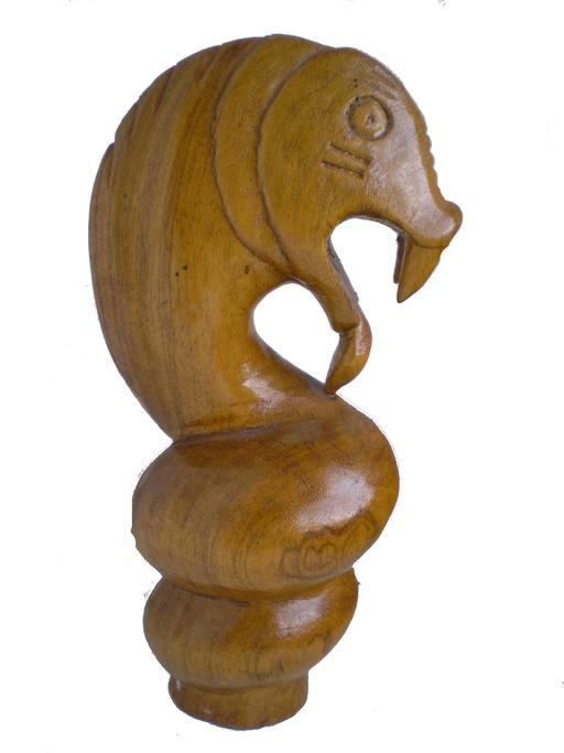 Sculpture en bois au Zimbabwe