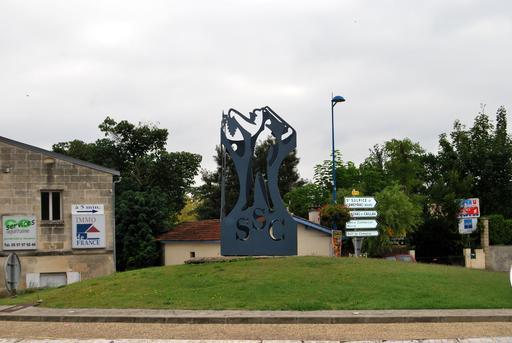 Sculpture viticole de Paul Bracq