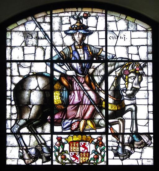Segovia Alcazar vitrail