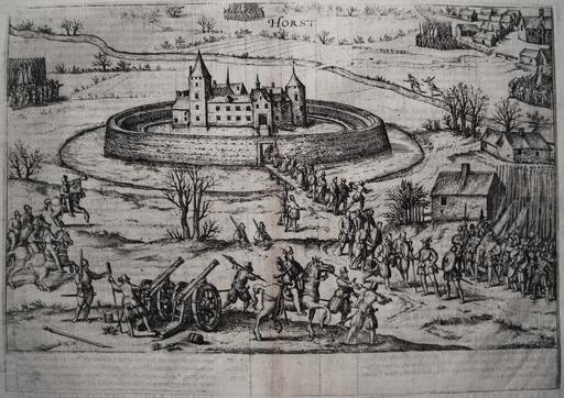 Siège d'un château en 1590