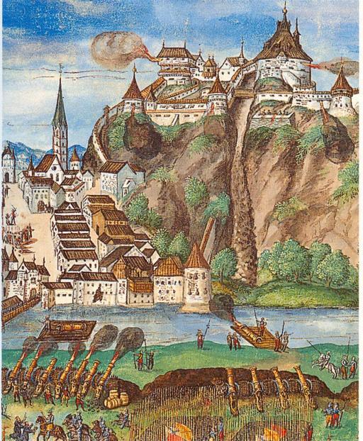 Siège de Kufstein par l'empereur Maximilien I