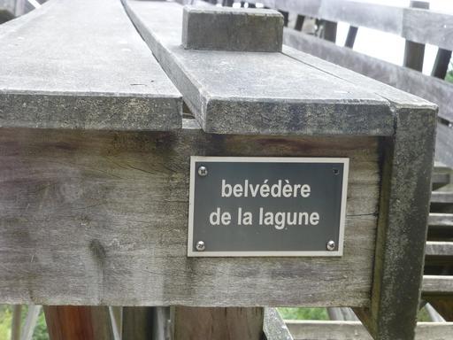 Signalisation au parc du Bourgailh