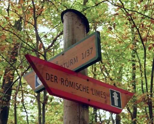 Signalisation du limes de Germanie