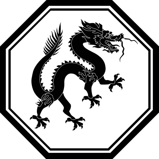Silhouette de dragon