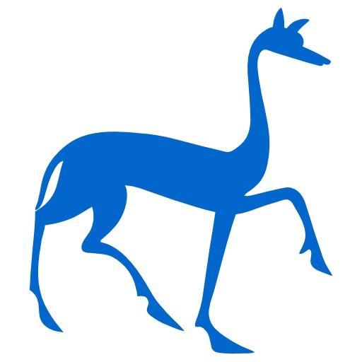 Silhouette de gazelle