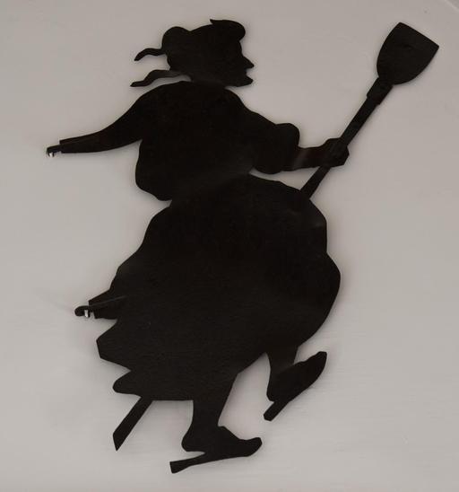 Silhouette de sorcière