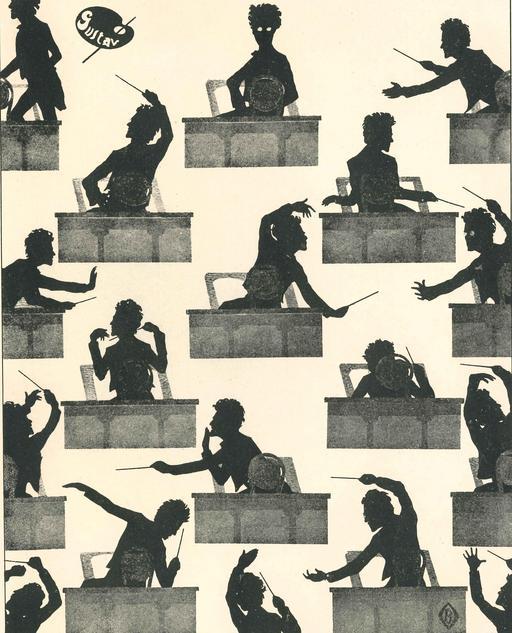 Silhouettes de Gustav Mahler