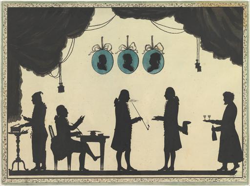 Silhouettes du cabinet impérial russe
