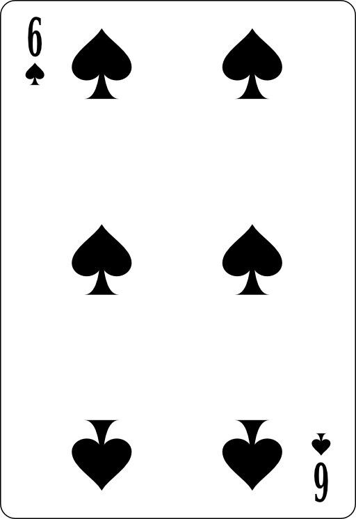 Six de pique