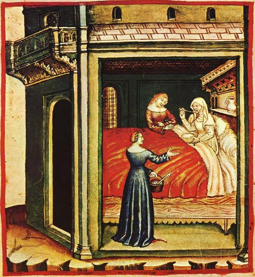 Soins au Moyen Age : bouillon de légumes