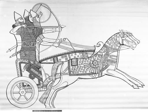 Soldats assyriens