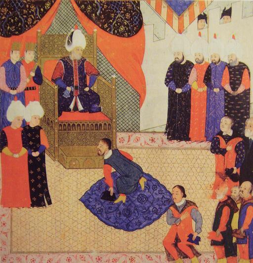 Soliman le Magnifique et Jean Sigismund de Hongrie en 1556