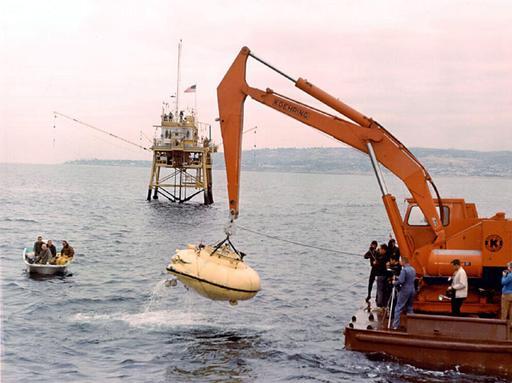 Soucoupe plongeante de Cousteau