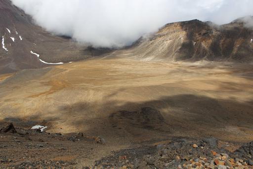 Cratère du Sud en Nouvelle-Zélande