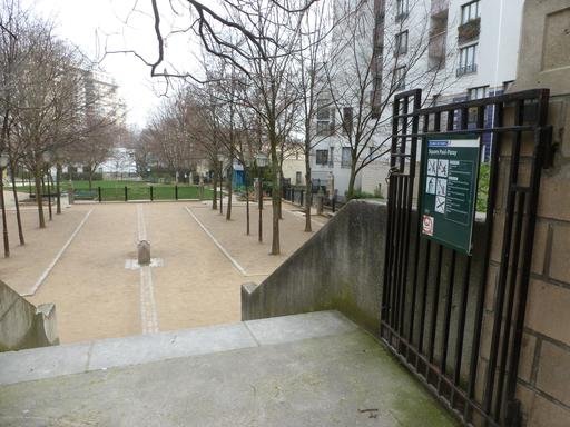 Square Paul-Paray à Paris