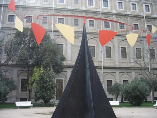 Stabile de Calder à Madrid