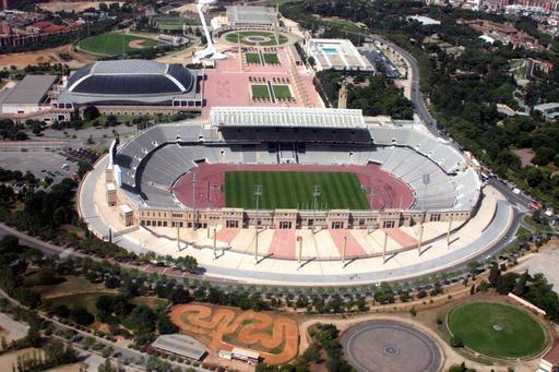 Stade olympique à Barcelone