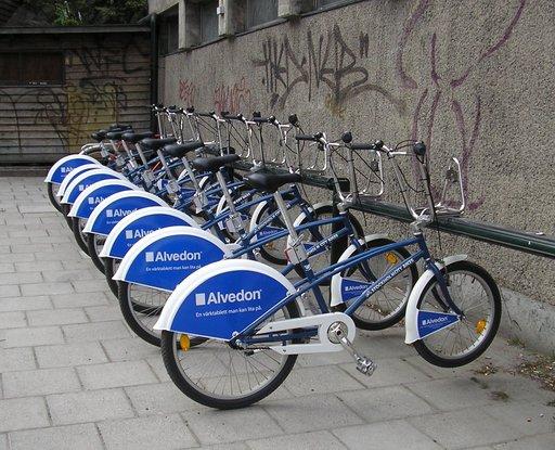 Station de bicyclettes