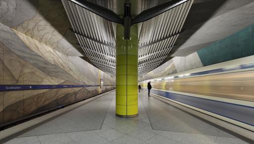 Station de métro à Munich
