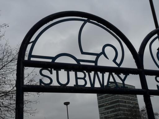 Station de métro de l'éléphant à Londres