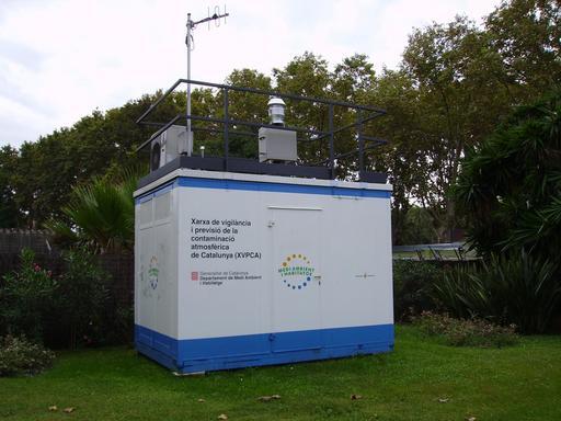 Station de surveillance de l'air en Catalogne