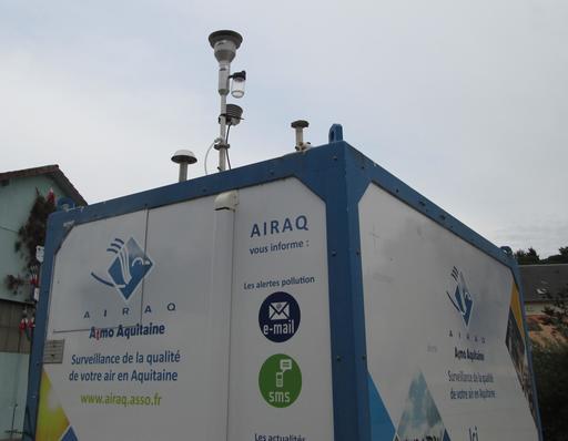 Station de surveillance de la qualité de l'air
