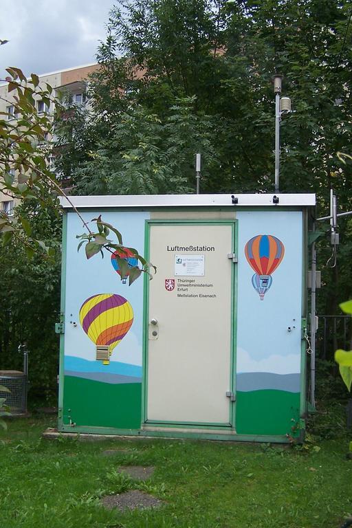 Station de surveillance de la qualité de l'air en Allemagne