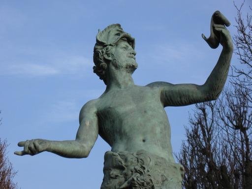 statue d'acteur
