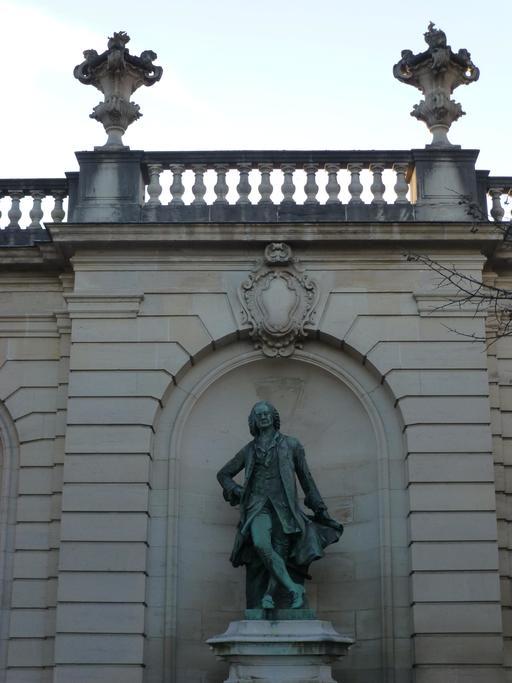 Statue d'Héré à Nancy
