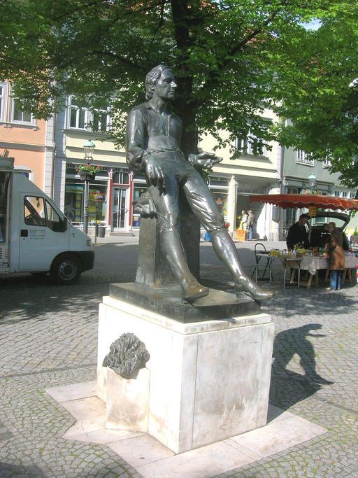 Statue de Bach à Thüringen