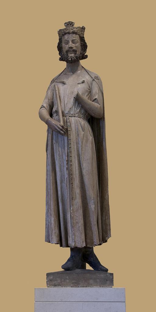 Statue de Childebert Ier