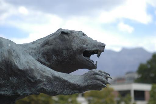 Statue de glouton