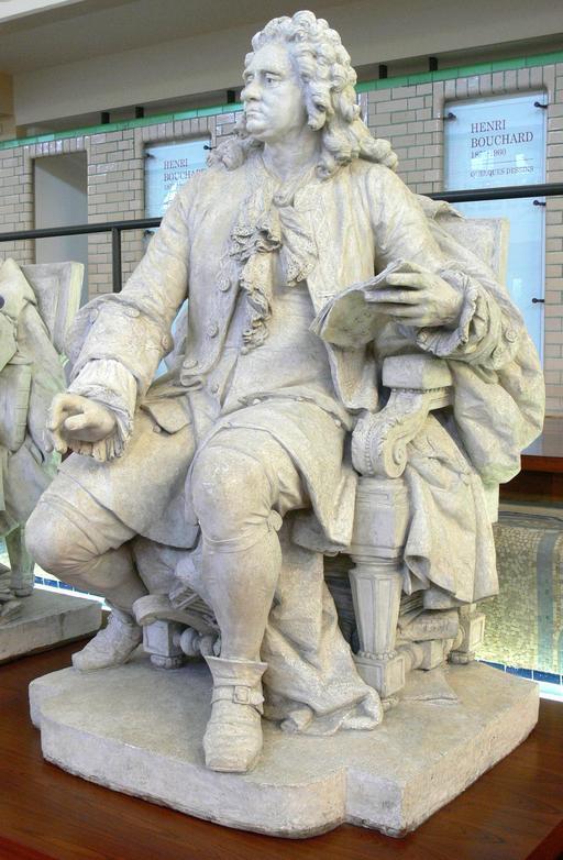 Statue de Haendel en 1874