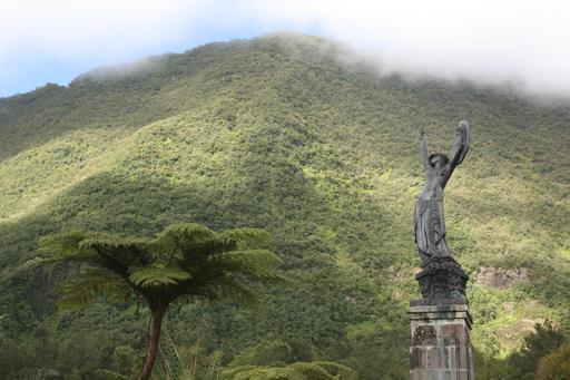 Statue de l'Âme de la France à La Réunion
