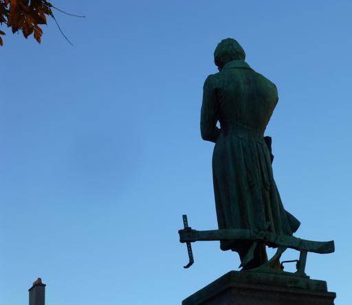 Statue de Mathieu de Dombasle à Nancy