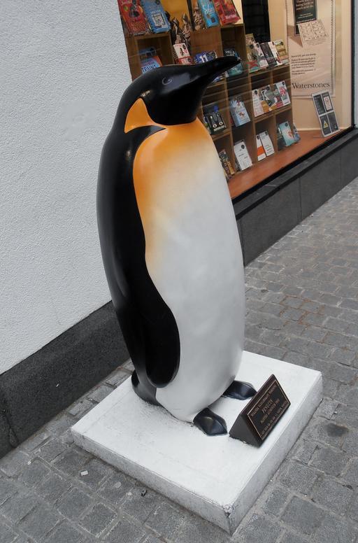 Statue de Pingouin