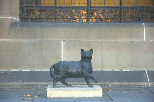Statue du chat Trim