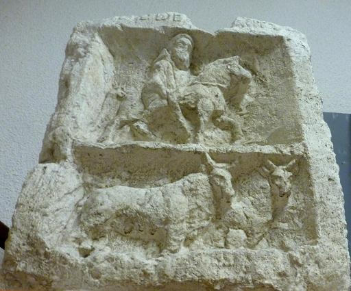 Stèle de l'enfant laboureur à Bordeaux
