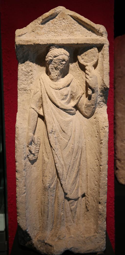 Stèle de Tarquinia Priscilla à Burdigala