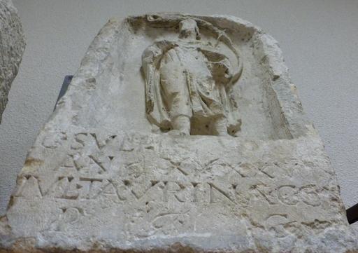Stèle funéraire  du joueur de cor à Bordeaux