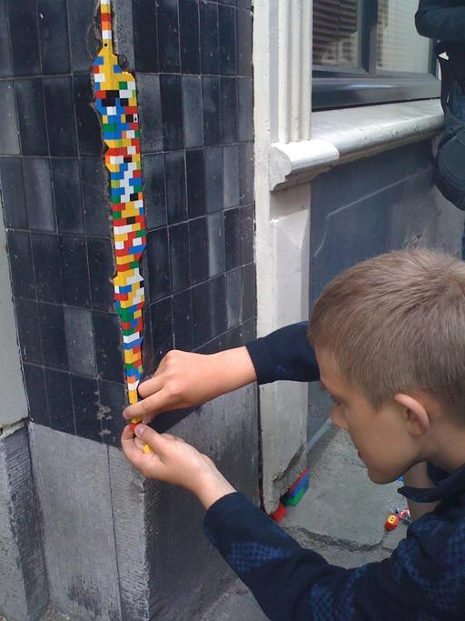 Street art et lego à Bamberg