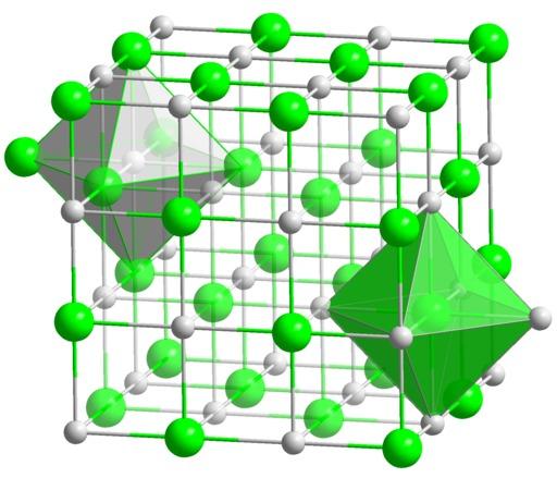 Structure du chlorure de sodium