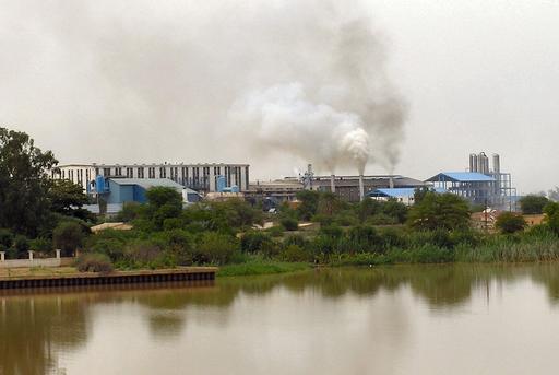 Sucrerie au Sénégal