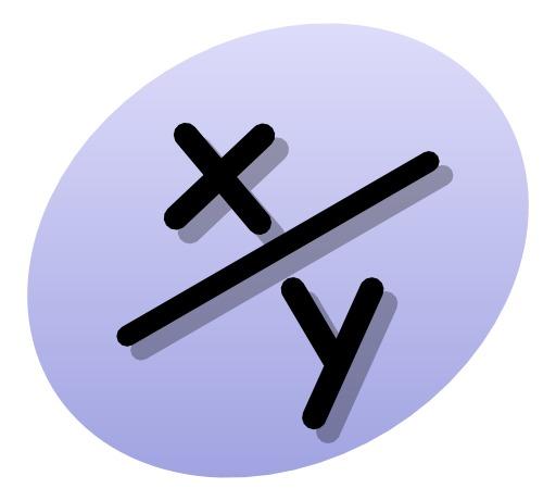 Symbole de la fraction