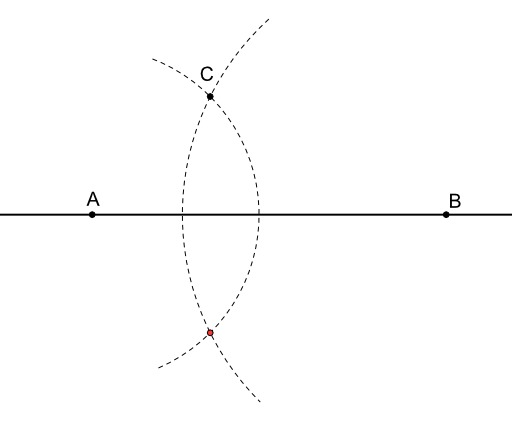 Symétrique d'un point par rapport à une droite