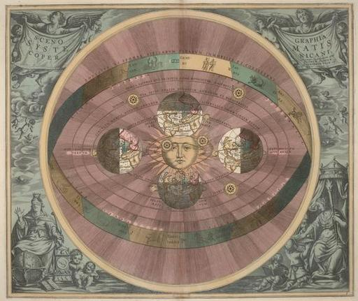 Harmonia Macrocosmica, par ce mathématicien et cartographe néerlando-allemand.